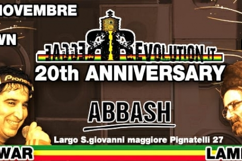 REGGAE REVOLUTION 20th ANNIVERSARY CON VITO WAR E LAMPA DREAD