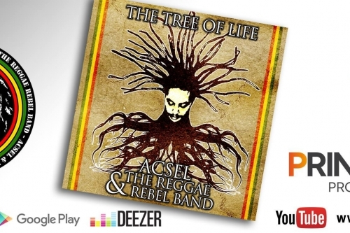 "Acsel & The Reggae Rebel Band presentano il secondo album ""The Tree of Life"""