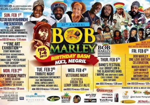 BOB MARLEY BIRTHDAY BASH 2015 THE AFTERMOVIE