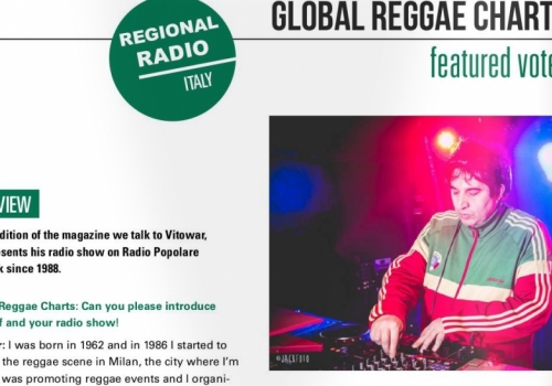 GLOBAL REGGAE CHARTS - INTERVISTA VITO WAR - PODCAST UFFICIALE
