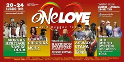 ONE LOVE WORLD REGGAE FESTIVAL 2016