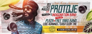 PROTOJE & THE INDIGGNATION BAND - LIVE A ROMA