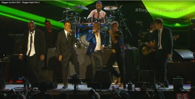 I SUD SOUND SYSTEM SUL PALCO DEL SUMFEST IN JAMAICA - VIDEO